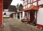 Ansicht Innenhof Fachwerkhaus
