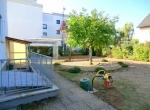Garten mit Kellerzugang