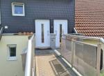 Zugang zur Wohnung 1.OG + DG